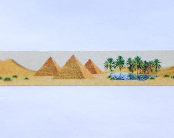"Desert Scene Washi Tape 24"" Sample - MASTÉ Japanese Washi Tape"