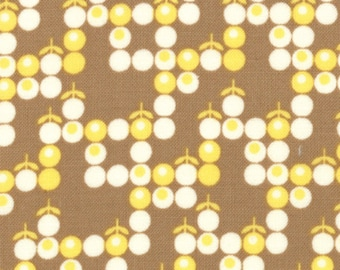Boho 1 & 1/2 yard Remnant 31093-16 Brown Yellow