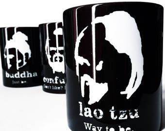 Philosophy Mug Lao Tzu Chinese Humor Funny Quote Eastern Meditation Spiritual