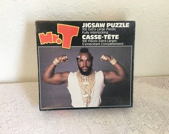 MR T jigsaw puzzle, 300 pieces, complete puzzle