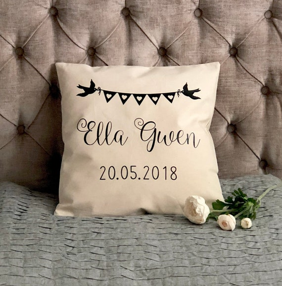 Personalised Decorative Nursery Cushion Cover