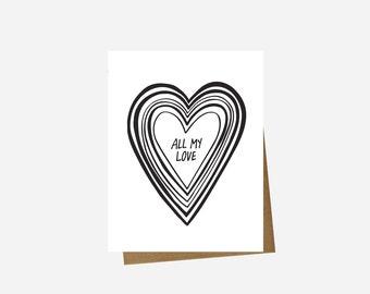 Love Card - All My Love