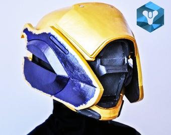 Painted and wearable Warlock's helmet Astrolord Hood