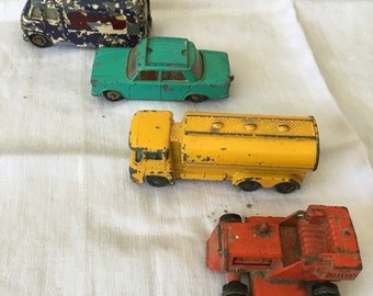 1960's Die Cast Lesney and Huskey Cars
