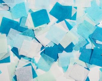 Mint Blue Confetti, Biodegradable Confetti, Blue Confetti, Tissue Confetti, Mint Confetti, Paper Confetti, Blue Wedding Confetti