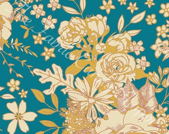 Soulful by Art Gallery Fabrics - Floral Universe - Rayon Fabric