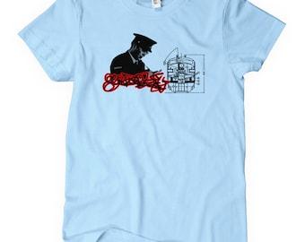 Vrouwen Nemesis Tee - Ladies' Graffiti T-shirt - S M L XL 2 x - 3 kleuren