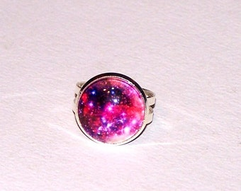 colorful nebula ring