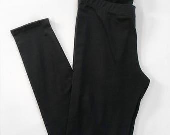 final few clearance - Basic Black Legging