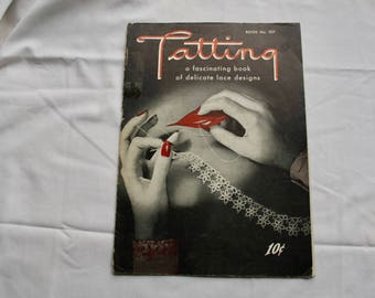 Tatting Book 207 Delicate Lace Designs  1994 Booklet Vol 207 Making Lace Edgings