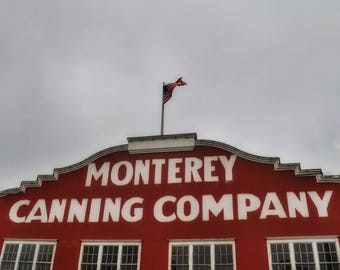 Monterey Canning Company Photo Print
