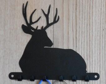 Buck deer resting key holder - [4500001]