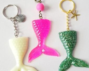 Mermaid Tail Resin Charms