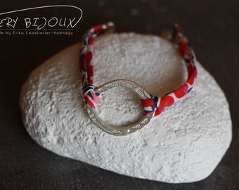 Liberty bracelet with a pretty Pearl ring