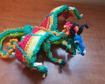 Rainbow Loom Dragon Glory from Wings of Fire