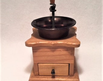 Coffee Grinder - Wooden and Metal