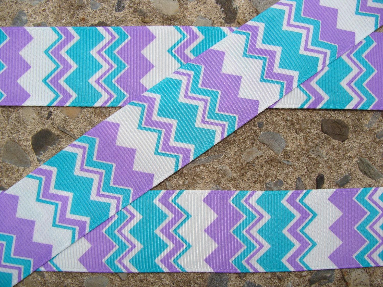 chevron ribbon purple and blue chevron ribbon 1 ribbon