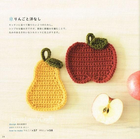 Kawaii nordischen Stil Amigurumi Eco Wäscher Muster Japanisch