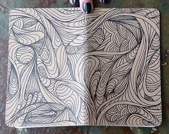 Small Moleskine Journal: Zentangle #2