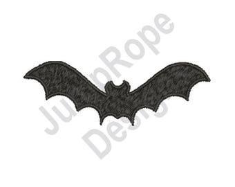 Bat Silhouette - Machine Embroidery Design