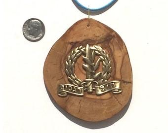 Israeli IDF Israel Defense Force Badge Heil Raglim Infantry Corps Pendant P115