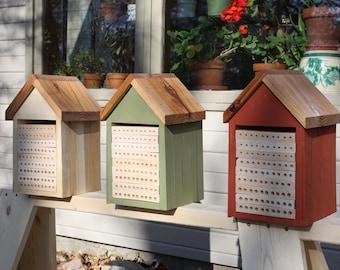 Medium Size Native Bee Habitat
