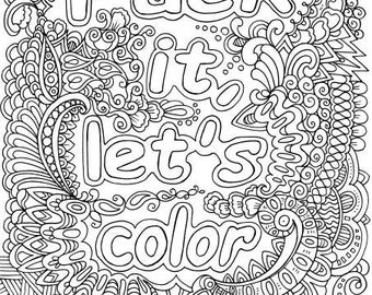 Fck It Lets Color