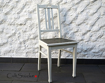 Shabby chic antique chair at 1900 unrestored
