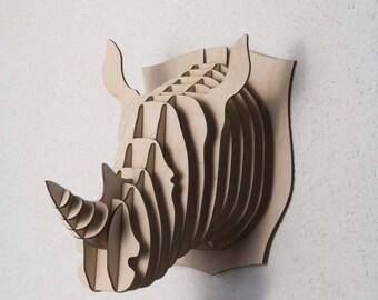 Rhino head - Digital files