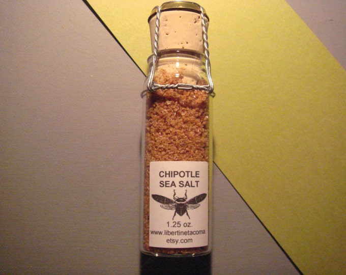 Chipotle Sea Salt Available in a Variety of Sizes