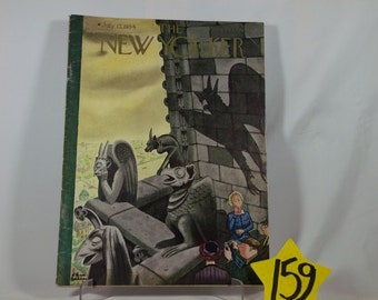 1934 July New Yorker magazine with Chas Addams artwork