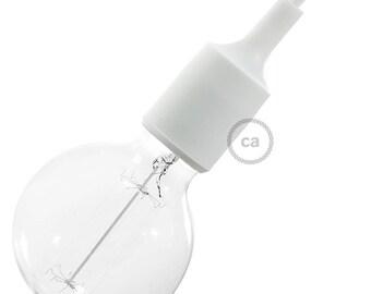 Silicone Light Socket kit- White socket