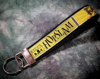 Bracelet porte clé de Hopslam bière étiquettes recup Bell