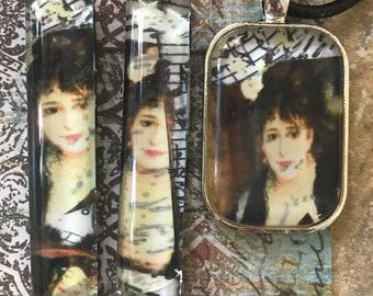 Manet earring pendant set