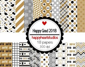 DigitalScrapbooking HappyGrad2018