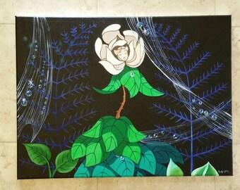 Disney Alice im Wunderland Gesang Blume