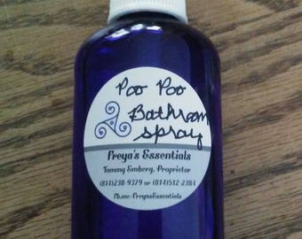 "Homemade ""Poo Poo Toilet Spray"""