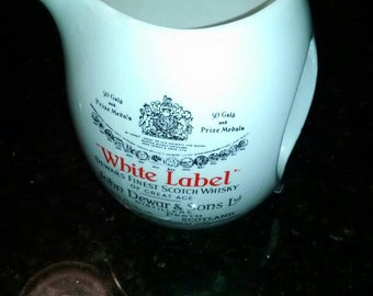 Dewar's White Label Whiskey Jug Scotland