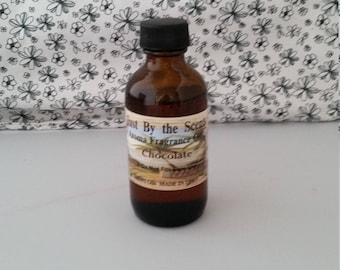 Chocolate - Aroma Fragrance Oil - Just By The Scents - 2 Ounce Bottle - 100% Oil - Made in USA