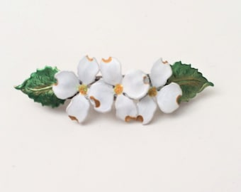 Hair Barrette Dogwood Flower, Medium