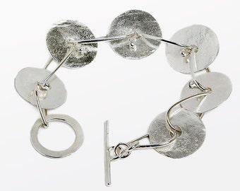 Large disc Bracelet