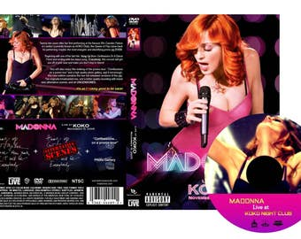 Koko Club Deluxe DVD London 2005 Confessions - Madonna
