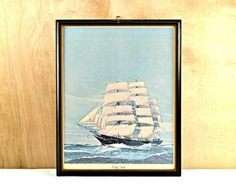 Clipper Ship Picture Print Cutty Sark