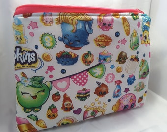 shopkins purse , shopkins clutch, shopkins handbag, shopkins bag