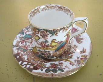 Olde Avesbury Demi Tasse Cup and Saucer