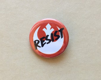 Star Wars Resistance RESIST Pinback Button