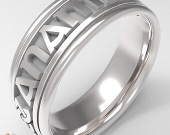 Sterling Silver Mo Anam Cara Ring, Irish Soul mate ring