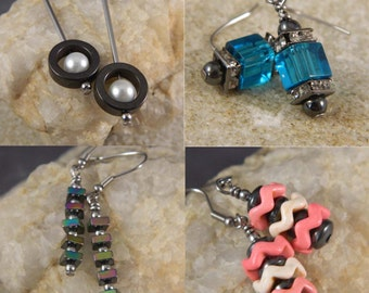 3 Month Subscription to Earring of the Month Club