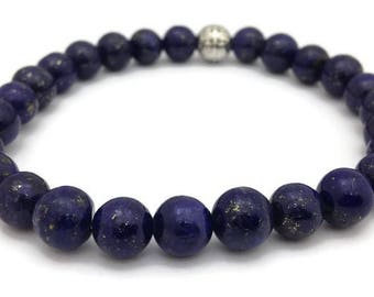 Tibetan Lapis Lazuli Stretch Bracelet