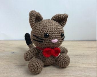 Crochet Cat Gift Crochet Kitty Gift Crochet Kitten Gift Amigurumi Cat Amigurumi Kitty Amigurumi Kitten Crochet Cat Animal Stuffed Kitty